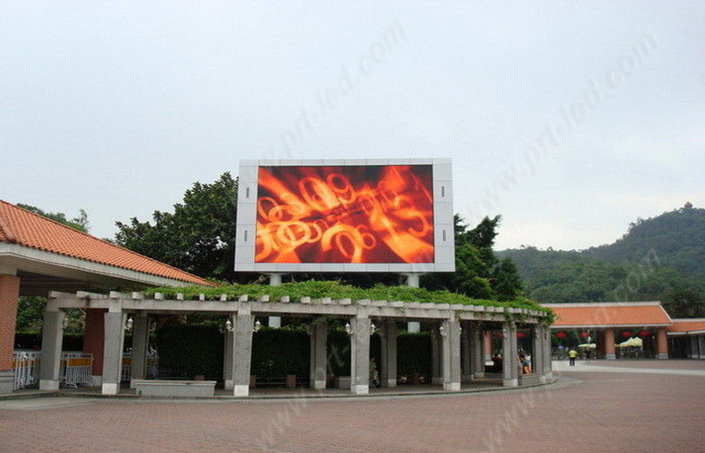 Pantalla LED full color para exteriores de alto brillo P5 con SMD2727
